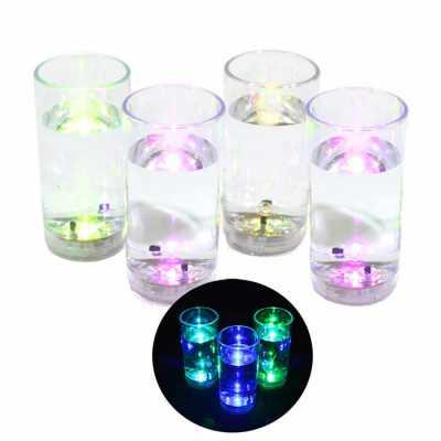 Copo Shot com LED ativado por líquido