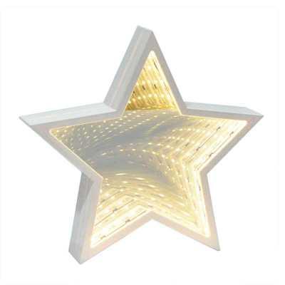 Luminária de mesa Estrela Led Espelhado