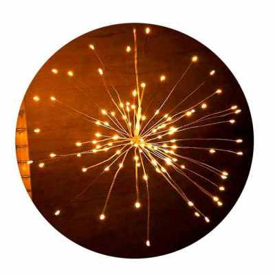 Luminária LED Fogos de artifício