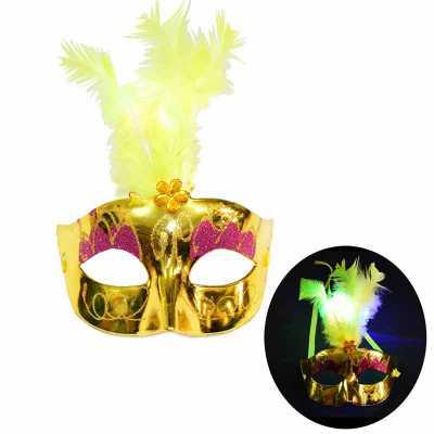 hutz - Máscara LED Penacho