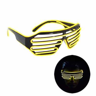 Óculos Neon High-Tech com funcionamento a pilha