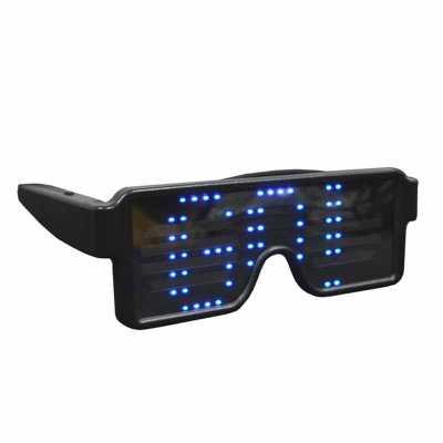 Óculos LED Dinâmico 8 Efeitos Recarregável via USB