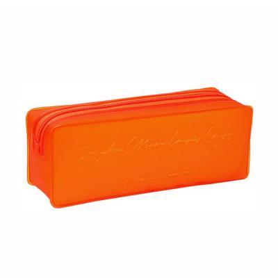 megga-promo - Produzida em all clear 040 mm, zíper nylon, cursor niquelado. Medidas, 21 cm largura x 8 cm altura x 6 cm profundidade.