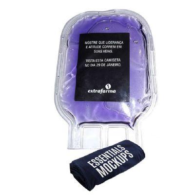 megga-promo - Bolsa de sangue com gel personalizado.