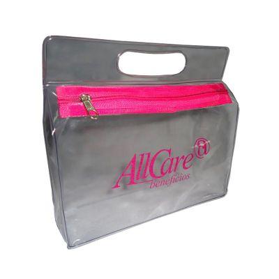 Megga Promo - Necessaire cônica com alça vazada