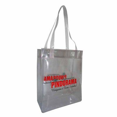 Megga Promo - Sacola plástica PVC transparente