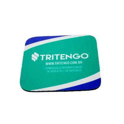 tritengo - Bolacha de Chopp / Porta Copo Quadrado Personalizado para Brinde