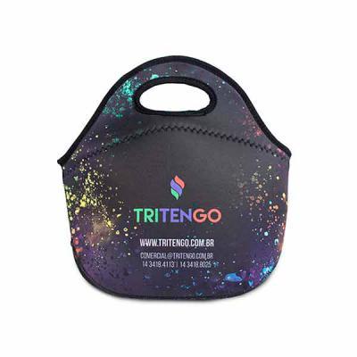 Bolsa Lancheira Térmica M2 em Neoprene Personalizada - Tritengo