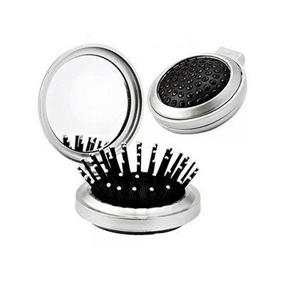 Escova de cabelo com espelho - JBX Brindes