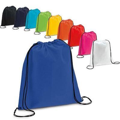 Mochila saco confeccionado em nylon - JBX Brindes