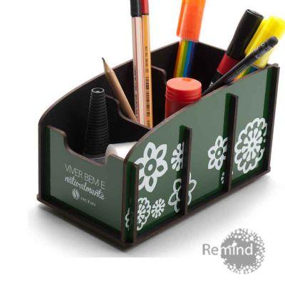 Porta Objetos Montável - Wagon B Personalizado - Remind Brindes Inteligentes