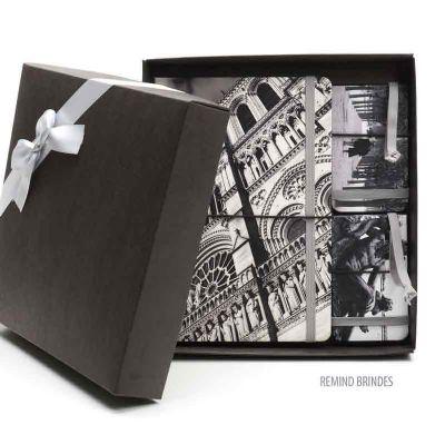 Kit Caderneta Italiana com Tag de Bagagem