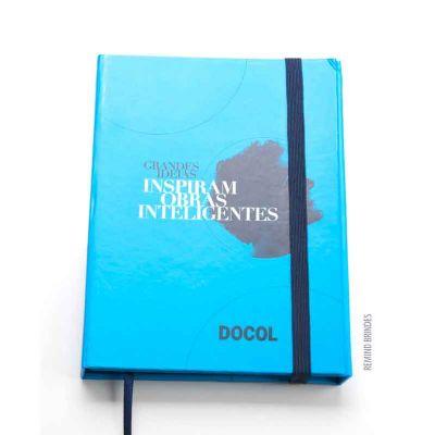 Remind Brindes Inteligentes - Caderneta Tipo Italiana 11 x 14,5 cm - Summit Docol