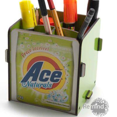 Remind Brindes Inteligentes - Porta Objetos Montável - Ace Personalizado