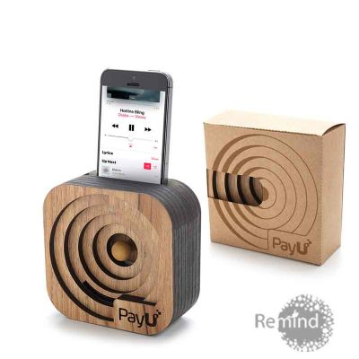 Caixa Acústica Amplificadora para Celular - Mod. Oxford