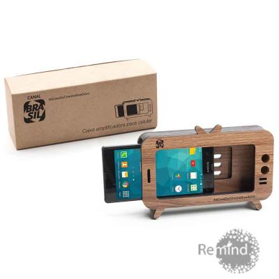 Caixa Acústica Amplificadora para Celular - Mod. TV