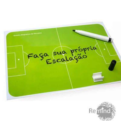 Quadro Magnético de Recados Memo board - Futebol - Remind Brindes Inteligentes