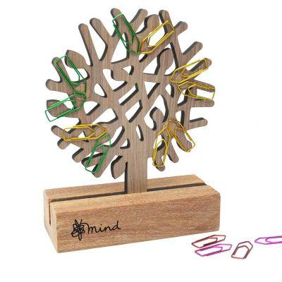Remind Brindes Inteligentes - Porta-clips ecológico.