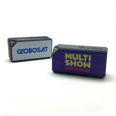 Promofy Brindes Personalizados - Caixa de Som Bluetooth personalizada