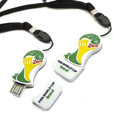 Promofy Brindes Corporativos Personalizados - Pen drive emborrachado