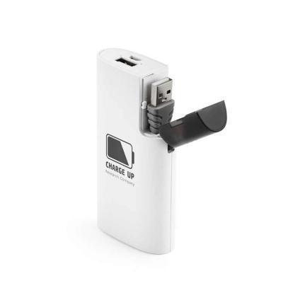Bateria portátil em ABS. Bateria polímero de lítio.Carregador de Celular power bank com capacida...
