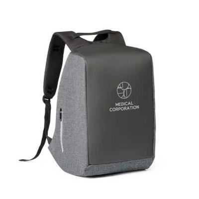 - Mochila para notebook  personalizada com sistema antifurto: compartimento principal com zíper oculto e parte posterior com 2 bolsos ocultos com zíper,...