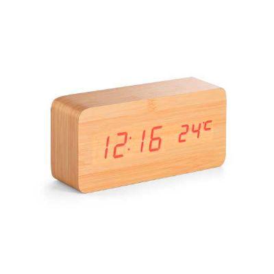 Relógio de mesa em MDF - Brindes de Luxo