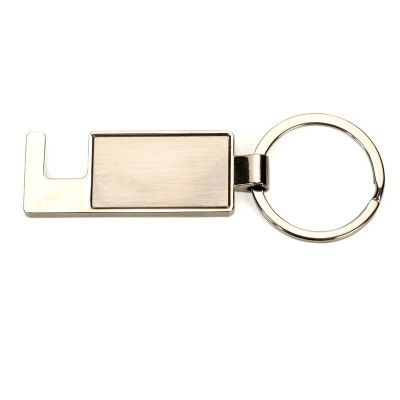 Brindes de Luxo - Chaveiro metal e porta celular personalizado