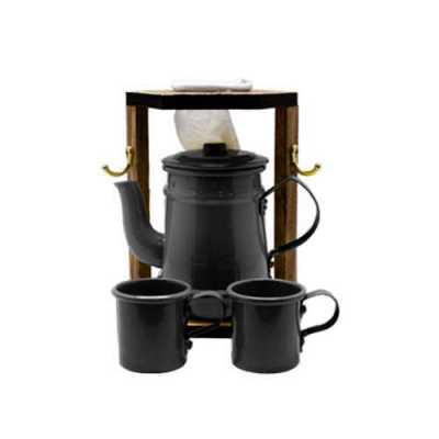 Mini Coador de Café Com Bule - Mariquinha - Brindes de Luxo