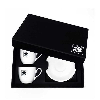 Brindes de Luxo - Conjunto de Xícaras de Café de Porcelana