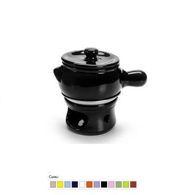 Brindes de Luxo - Panela para fondue personalizada.