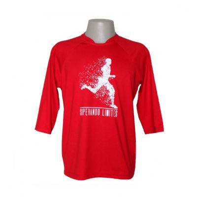 equilibrios-camisetas-promocionais - Camiseta com manga 3/4 ecológica.