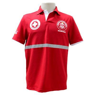 equilibrios-camisetas-promocionais - Camisa Polo ecológica com faixa Refletiva.