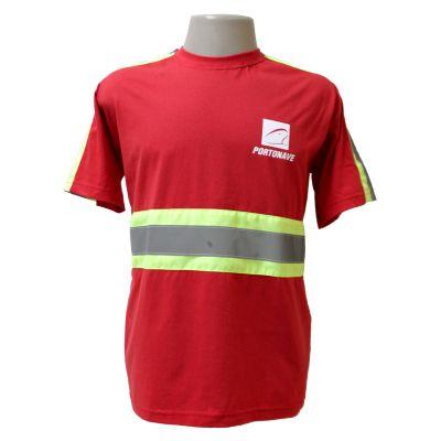 equilibrios-camisetas-promocionais - Camiseta 100% com faixa Refletiva