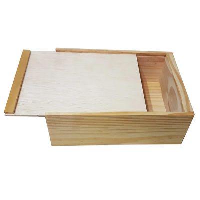 d28b368c6f9 Estojo de madeira para organizar pequenos objetos. Prático