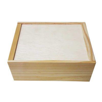 Estojo de madeira para organizar pequenos objetos. Prático, leve e resistente. Comporta 2 garrafas de até 31 cm de altura x 10 diametro. Medidas em cm...