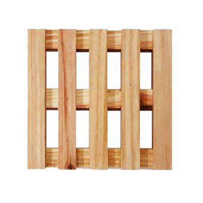 studio-blomma - Deixe sua mesa linda com este kit organizador de travessas e panelas em madeira. Dimensão total - 22 x 24 x 3 cm