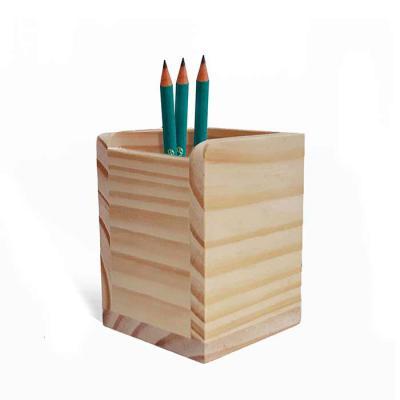 Studio Blomma - Porta lápis, trecos e organizador de mesa e escritório. Madeira 100% de reflorestamento.