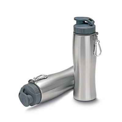 mr-cooler - Garrafa de aço inox 750 ml com mosquetão.
