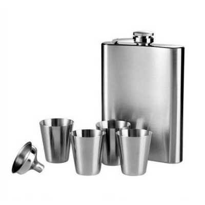 Kit Cantil Porta Bebida Personalizado em Inox