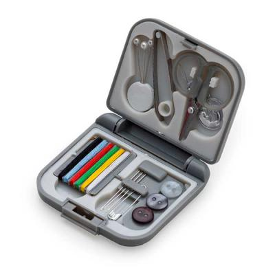 MR Cooler - Kit costura de plástico resistente, possui frente e verso liso fosco e parte interna com suporte plástico para os itens. Possui três alfinetes de péro...