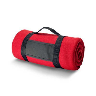 Manta. Tecido polar: 180 g/m². Com alça removível. 1500 x 1200 mm - MR Cooler