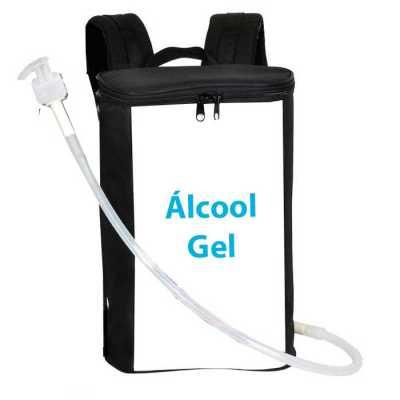 Mochila para Distribuição de Álcool Gel