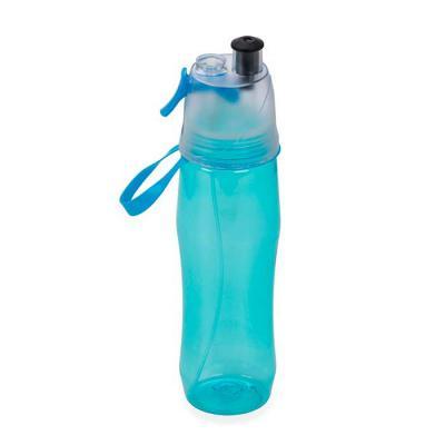 Squeeze plástico 700ml brilhante com borrifador.  Possui tampa plástica resistente(transparente), para uso basta levantar o bico e utilização do borri...
