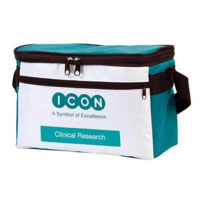 - Bolsa térmica em nylon 70 com bolso frontal, vários tamanhos: 5, 10, 14, 20 litros.