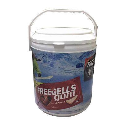 MR Cooler - Cooler personalizado 12 latas com espaço para gelo