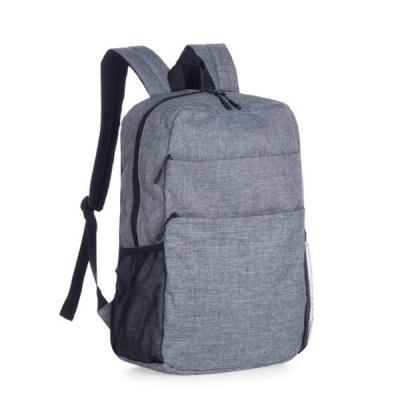 MR Cooler - Mochila de Nylon com compartimento para notebook. Possui compartimento grande com bolso para notebook e dois bolsos para documentos; compartimento fro...