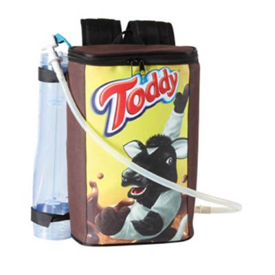 MR Cooler - Mochila térmica para degustação personalizada.