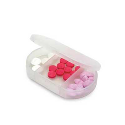 Porta Comprimido Personalizado 3 Divisórias