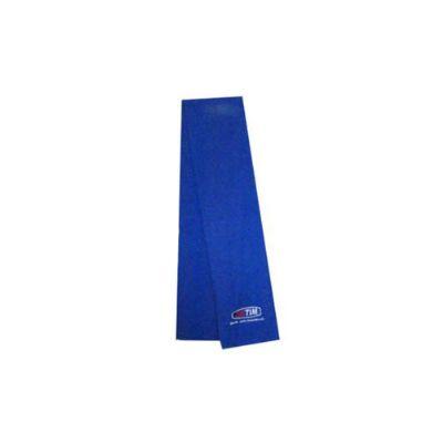 Cachecol em tecido soft com aplicação de logo bordado